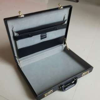 Hardcase Leather Briefcase
