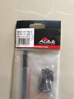 KDS Agile 5.5 tail pitch linkage rod