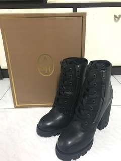 100% New Ash 'Poker' Leather Boot
