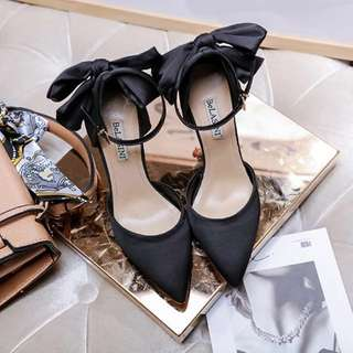 D&G 同款 high heels 黑色高跟鞋 平底鞋 dolce & gabbana 晚裝 謝師宴