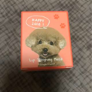 Laneige Grapefruit Lip Sleeping Pack (Cute Doggy LIMITED EDITION) 2x stock