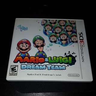 S> 3DS Mario & Luigi Dream Team