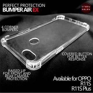 Oppo R11S Bumper Air EX Case / Cover