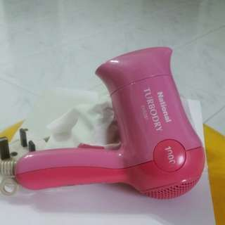 National .Hair Dryer .small n handy.1000w.good condition only  $10