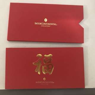 Intercontinental Hotel Ang Pao Red Packet