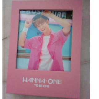 (WTS) - WANNA ONE TO BE ONE ALBUM -BAE JIN YOUNG COVER PINK ver.