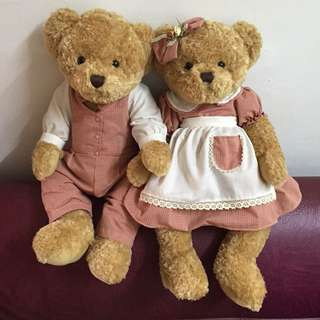 Couple Teddy Bear