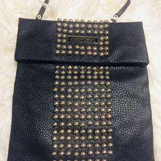 Jimmy Choo studs shoulder bag, cross body bag, hip bag