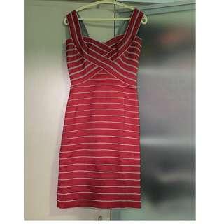 Tadashi red sexy dress