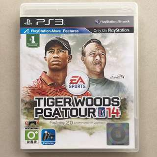 PS3 Game Tiger Woods PGA Tour 14
