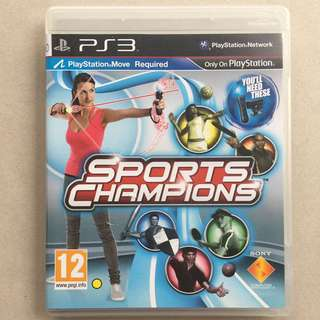 PS3 Game Sports Champions