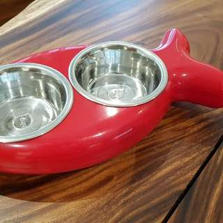 Hing Fish-shaped Cat Dish