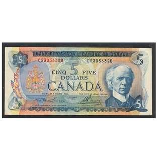 (BN 0005-1) 1972 Canada 5 Dollars