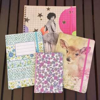 TYPO Notebook Diary Journal Bundle Lot
