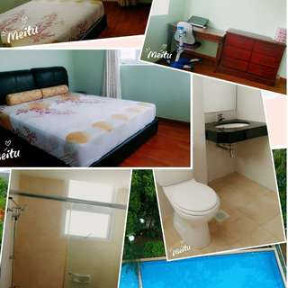 Only $1200 Condo Master Room for rent  (10min from Boonkeng MRT,3min to nearest bus stop)