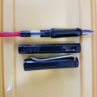 Lamy safari fountain pen+filler