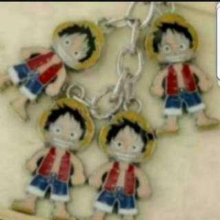 In Stock One Piece Luffy Keychain