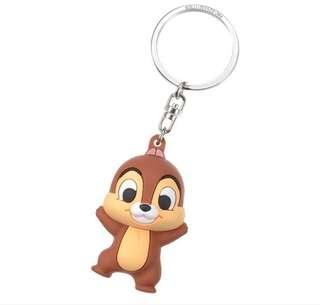 🇯🇵日本代購 迪士尼 Disney chip n dale 大鼻與鋼牙 3D 立體 鎖匙扣