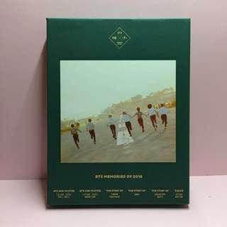 BTS 防彈少年團 memories of 2016