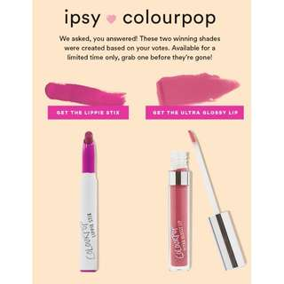 [NEW INSTOCKS] COLOURPOP X IPSY
