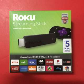 Roku Streaming Stick (3600R) - HD Streaming Player with Quad-Core Processor