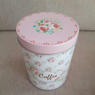 Coffee Tin Rose - Marron•Cr