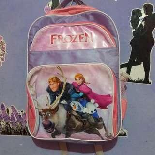 #MakinTebel Tas frozen anak