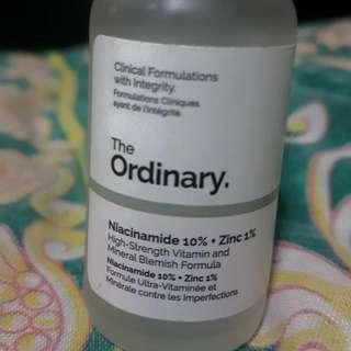 The ordinary Niacinamide 10%