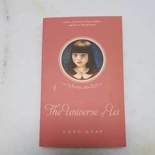 The universe of us -- Lang Leav
