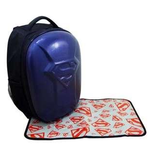 Simple Dimple Superman Bag Medium (Navy Blue)