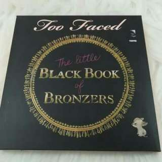 Contour: Too.Faced The Little Black Book Of Bronzr