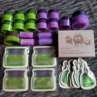Innisfree jeju orchid green tea seed Samples