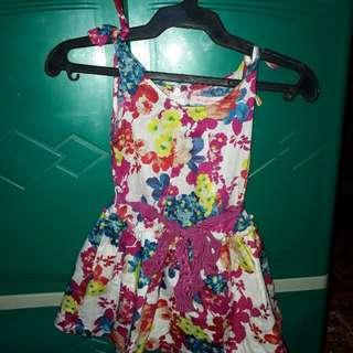 Gingersnap floral dress