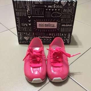 Mini Melissa Shoes Love System Size 6