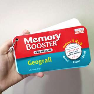 Memory Booster Geography Memory Card