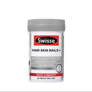 Swisse Hair Skin Nails + (60 tablets)