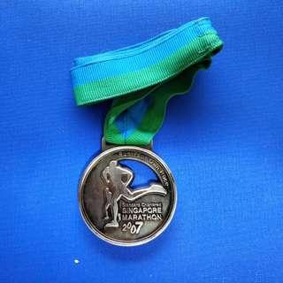 Singapore Standard Chartered Marathon Medal 2007