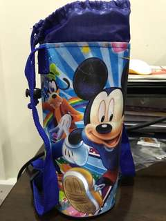 Mickey Mouse water bottle carrier
