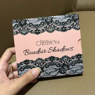 EYE SHADOWS BY BEAUTY CREATIONS (BOUDOUIR SHADOWS)