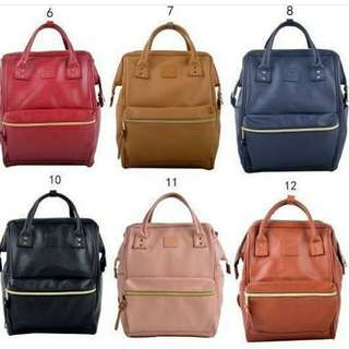 B1T1 ANELLO LEATHER BACKPACK