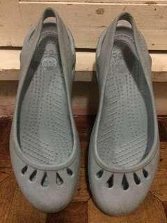 Light Blue Crocs Slip On