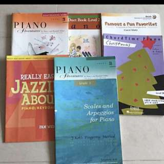 Piano books