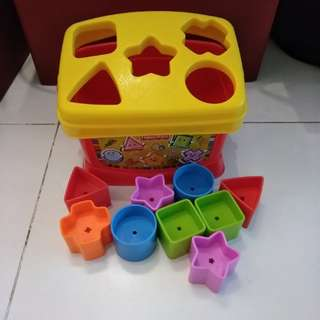 Shapes toy fisher Price