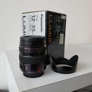 Panasonic lumix 12-35mm f2.8 pro lens