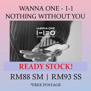 WANNA ONE - 1-1 ready stock