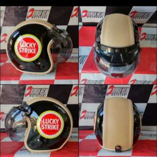 Helmet retro lucky strike gloss