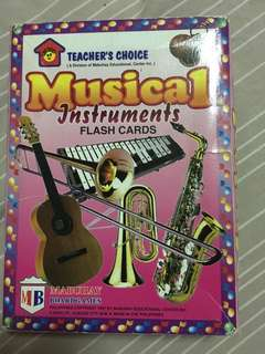 Musical Instruments 32 flash cards