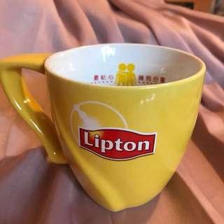 Lipton 奶茶杯 milk tea cup