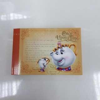Collectible Tokyo Disneyland Mini Note Book