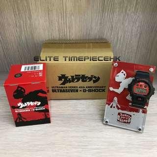 全新現貨 Casio G SHOCK x Ultraseven 超人七號 (七(星俠) 45限量紀念版 DW-6900FS 全日本製造